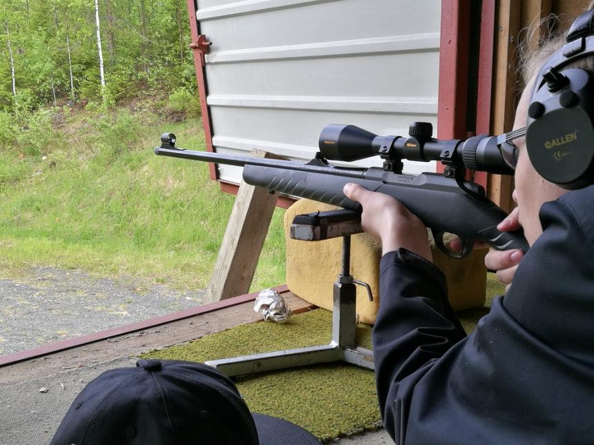 Kuva ampujasta. Kuva: Johanna Kallio