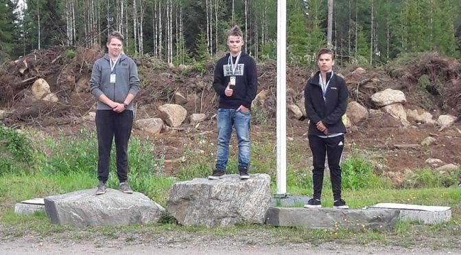 Eetu Kaimio, kultamitalli, Ikäkausi SM skeet 2017 , Y15