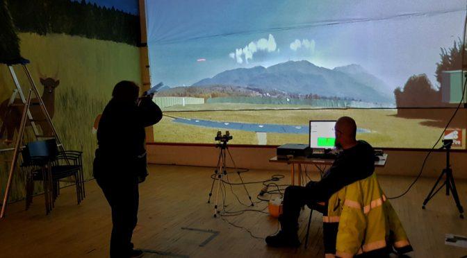 Simulaattorilla. kuva. Tea Kärppä